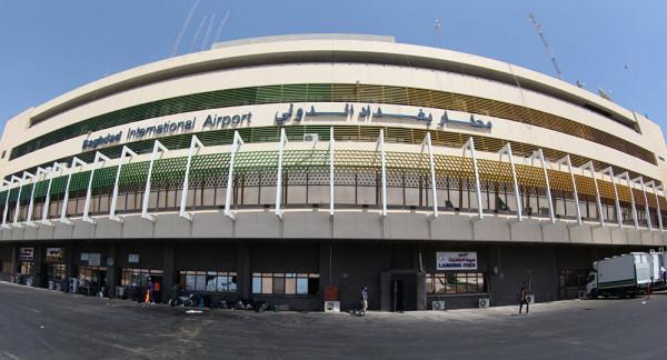 سقوط صواريخ على مطار بغداد الدولي