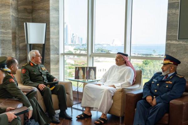 مباحثات عسكرية أردنية قطرية