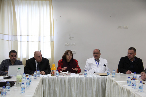 وزيرة الصحة: مختصون يبدؤون اليوم تقييم مجمع فلسطين الطبي برام الله
