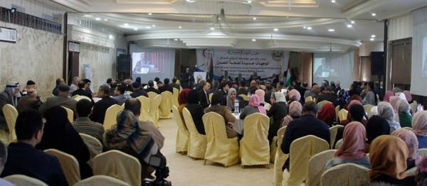 الإعلان عن توصيات المؤتمر العلمي الدولي الأول لكلية المهن الصحية جامعة الإسراء