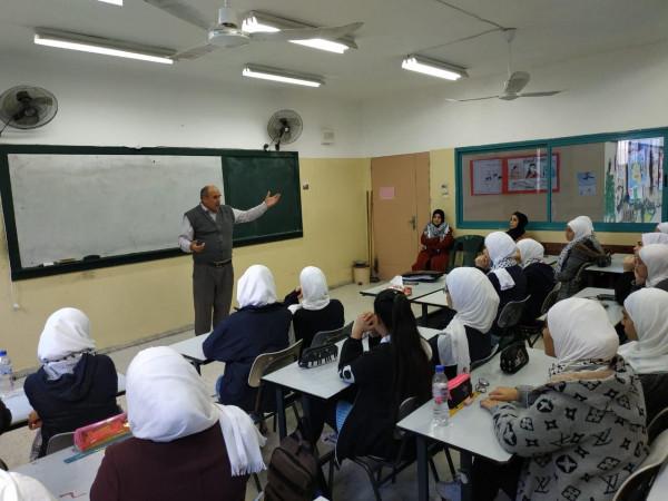 لجان الشبيبة الثانوية تنظم محاضرة عن تاريخ فلسطين