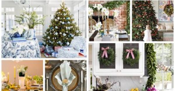 11 فكرة مختلفة لديكور وزينة الكريسماس