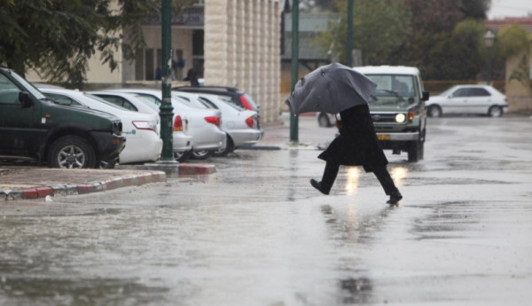 الطقس: منخفض جوي يضرب الأراضي الفلسطينية يوم الخميس