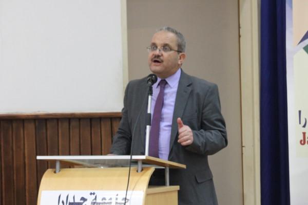 محاضرة للنائب زيادين عن دور الشباب للنهوض بالوطن في جامعة جدارا