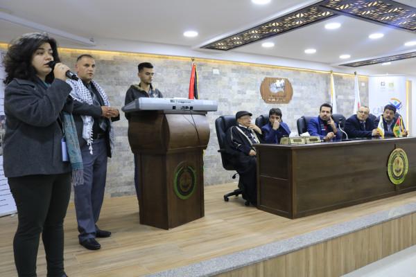 إطلاق فعاليات ملتقى فلسطين للمبدعين الشباب في مدينة أريحا