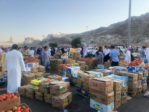 """مطالبات بـ """"سعودة"""" سوق للخضار في مكة المكرمة"""