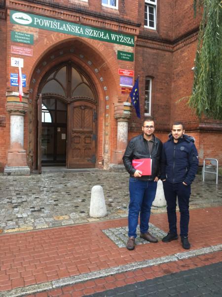 إطلاق أول تبادل أكاديمي للطلاب مع جامعة Powiślańska البولندية