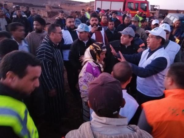 تواصل تقديم المساعدات بالرحامنة بسبب الفيضانات
