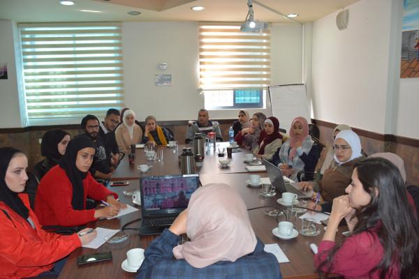 المؤسسة الفلسطينية للتمكين والتنمية المحلية تختتم جلسة رصد لأداء وحدة حقوق الإنسان