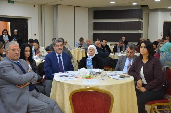 الإعلان عن البيان الختامي للمؤتمر الوطني لتعزيز السلم الأهلي وسيادة القانون