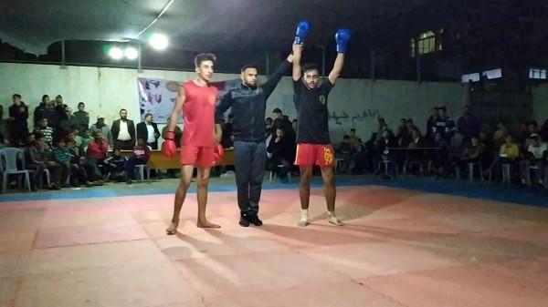 النبريص يحصد المركز الأول علي مستوى قطاع غزة في لعبة/كونغ فو ساندا