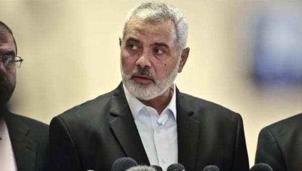 هنية: نقف مع الأردن بالقلب والسيف ورقابنا دون الوطن البديل
