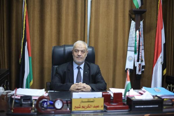شبير يطالب فضائية القدس بدفع حقوق موظفيها الذين تم الاستغناء عنهم