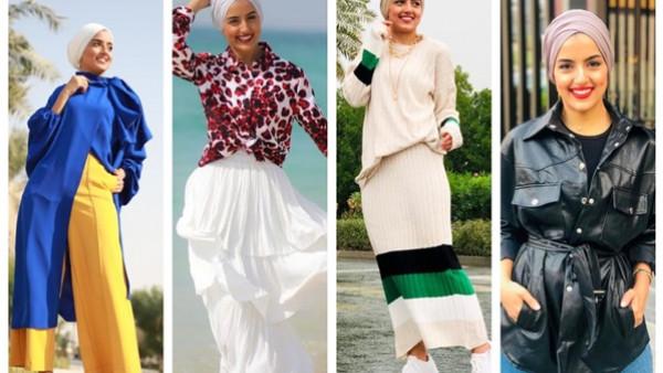بـ 5 تصميمات.. فلسطينية تحقق حلم الوصول للعالمية في نيويورك