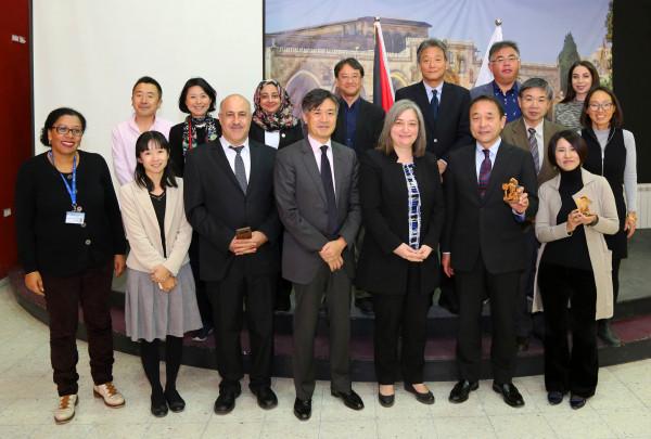 معايعة: نسعى لتطوير العلاقة الفلسطينية اليابانية في المجال السياحي