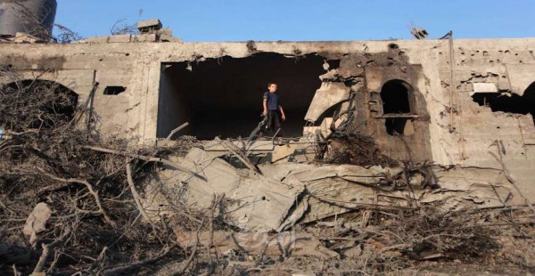 أبو حسنة: جهود تبذل لجلب تمويل لمتضرري حرب 2014 المصنفين جزئي بليغ