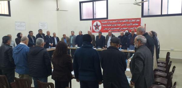 اتحاد لجان حق العودة بمخيمات بيروت ينظم ورشة بالذكرى السنوية لتأسيس (أونروا)