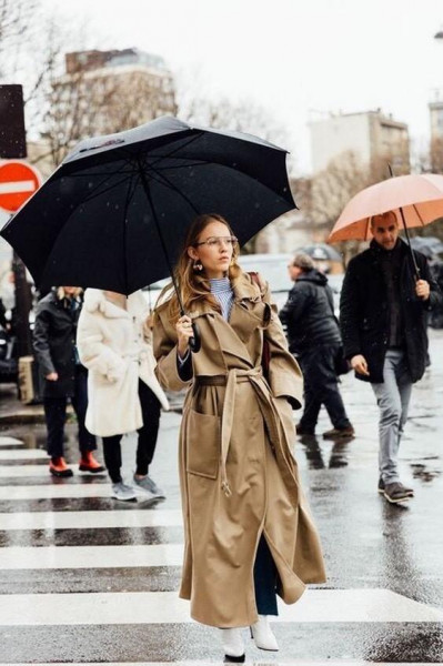 أفكار تساعدك لاختيار إطلالتك فى المطر