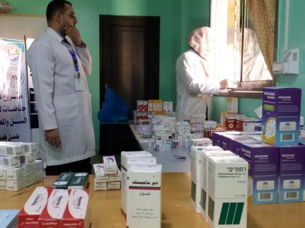 يوم طبي مجاني في جمعية إعمار بخانيونس