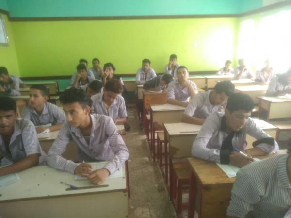 مكتب التربية بعدن يدشن امتحانات الفصل الاول بعد انجازات تربوية مشهودة