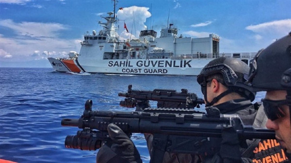 البحرية التركية تعترض سفينة إسرائيلية شرق البحر الأبيض المتوسط