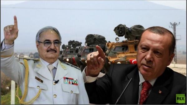 أردوغان: خليفة حفتر شخصية غير شرعية