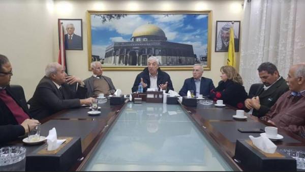 وفد فتح إقليم سورية يجري زيارات ولقاءات للعديد من الفعاليات على أرض الوطن