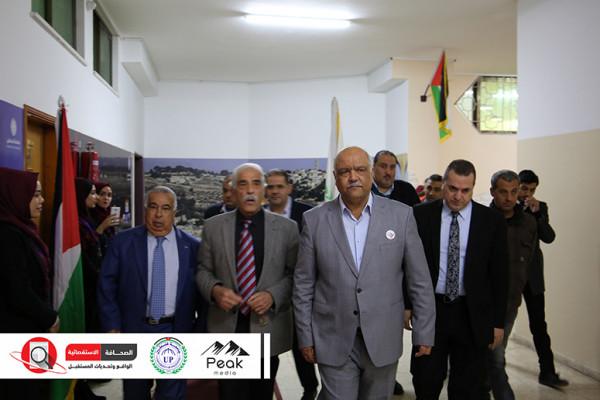 انطلاق أعمال مؤتمر الصحافة الاستقصائية الواقع بجامعة فلسطين