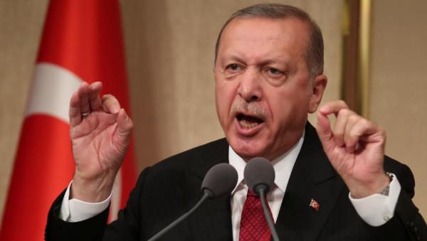 """أردوغان يُهدد الولايات المتحدة بـ """"الإبادة الجماعية"""" للهنود الحمر"""