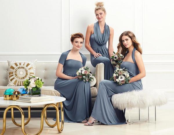 فستان لوصيفات العروس يصلح للارتداء بـ 13 طريقة مختلفة في زفافك