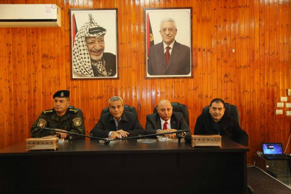 قلقيلية: تكريم مدراء وضباط الأجهزة الأمنية الذين خدموا في المحافظة