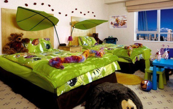 موضة 2020 .. 10 أفكار لغرف نوم الأطفال   9999014724