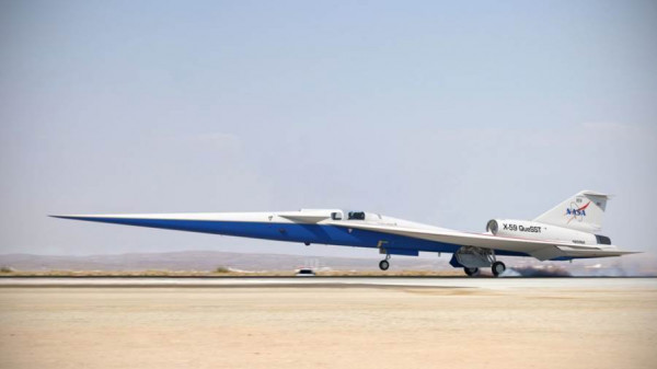 ناسا تحصل على الموافقة النهائية بشأن الطائرة الأسرع من الصوت   9999015080