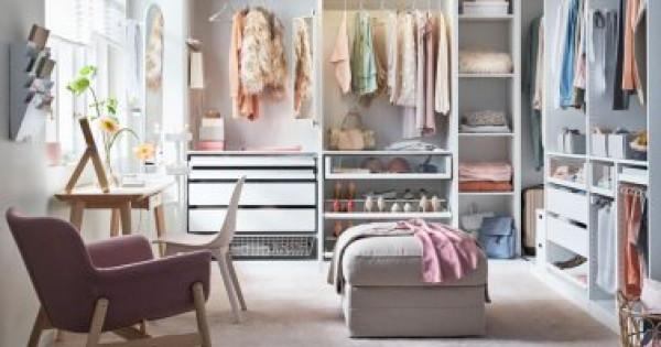 3 أفكار لتصميم غرفة الملابس دون الحاجة لهدم الحائط