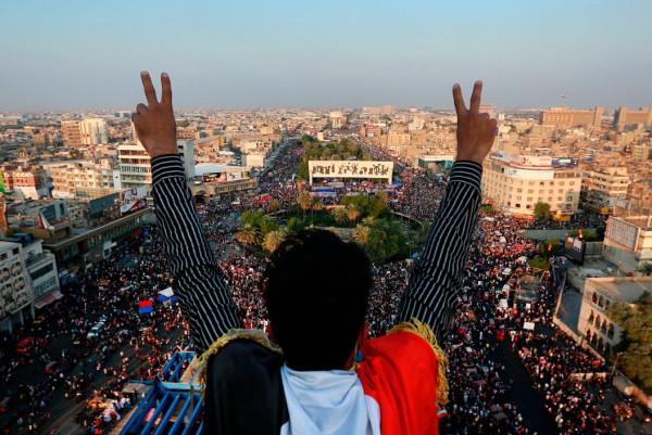 بومبيو: يجب عدم الخلط بين المتظاهرين العراقيين المسالمين والإرهابيين المدعومين من إيران