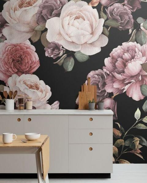 خمسة أفكار لتغيير ديكور مطبخك بورق الحائط