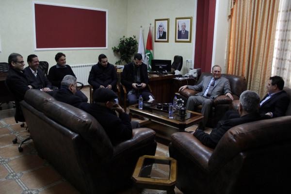 جامعة فلسطين الأهلية تستضيف النائب أيمن عودة
