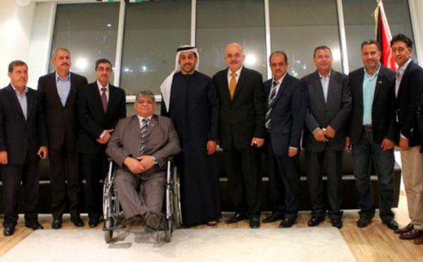 جمال أبو بكر رئيساً لمجلس العمل الفلسطيني في أبو ظبي