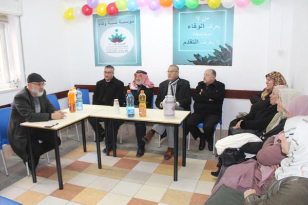 مؤسسة لمسة وفاء أهالي القدس تكرم كوكبة من المعلمين والمعلمات بالمدينة
