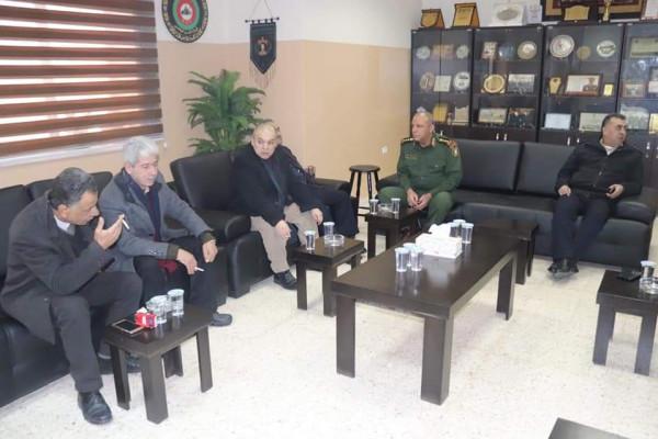 فصائل العمل الوطني بالخليل تجتمع مع قيادة منطقة المحافظة