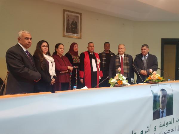 الباحث عبد المنعم وهدان يحصل على درجة الدكتوراة