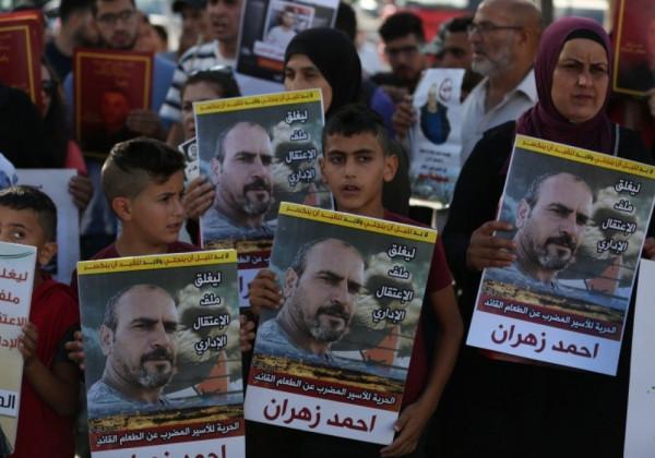 شقيق الأسير زهران: سلطات الاحتلال لن تخرجه من العزل لسوء وضعه الصحي
