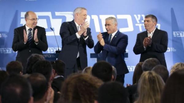 """حزب (أزرق أبيض) في إسرائيل يهدد بالإطاحة برئيس """"كنيست"""""""
