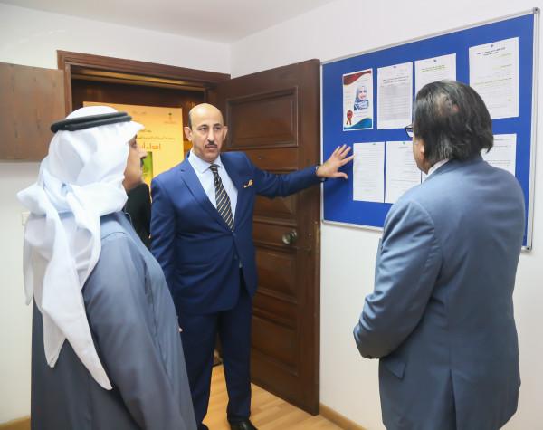 الدكتور الغياض في زيارة ودية للملحقية الثقافية السعودية بالقاهرة