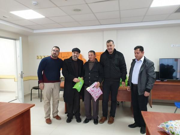 تكريم قسم صحة البيئة العاملين في مخيم الدهيشة التابعين لـ(أونروا)