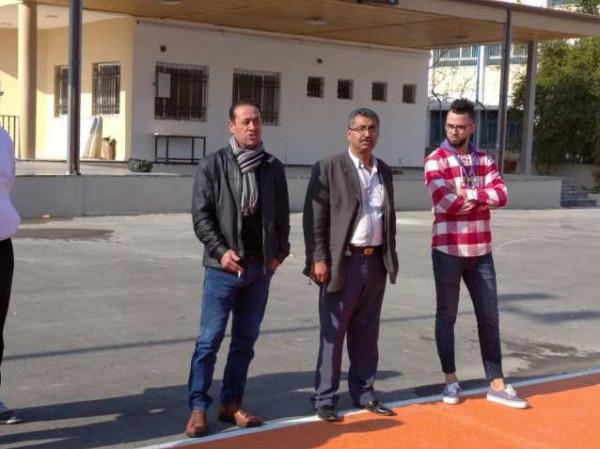 المشاركون في مخيم العودة الكشفي الشتوية الثاني يزورون صلاح السمهوري