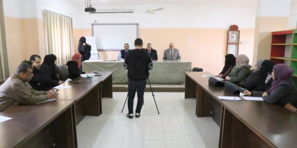 """تعليم خانيونس يفتتح ورشة عمل لمناقشة مبادرة """"نجوم فلسطين"""""""
