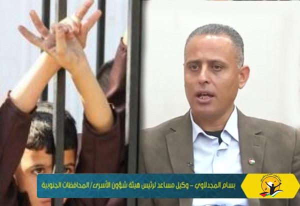 هيئة الأسرى: سلطات الاحتلال مارست العنف والإرهاب بعملية نقل الأطفال لـ(الدامون)
