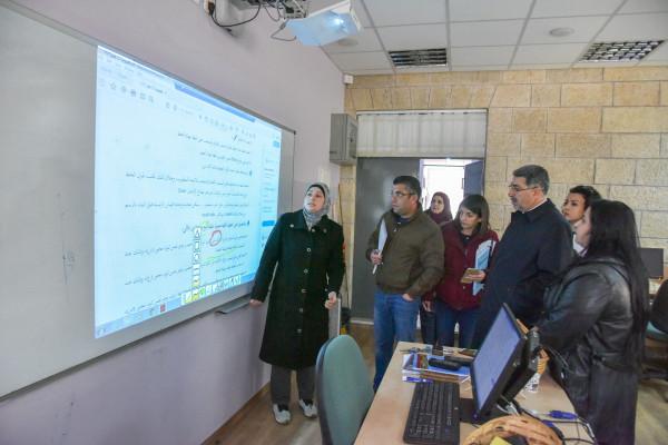 بلدية رام الله والتربية والتعليم تنفذان جولات على مدارس المدينة