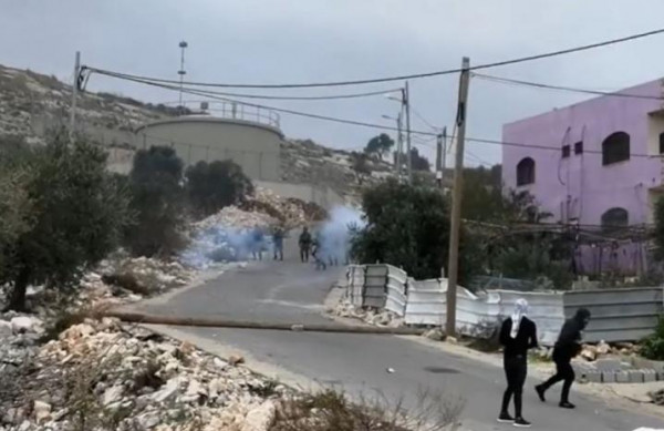 إصابة 13 مواطنًا بجروح وحالات اختناق خلال مواجهات كفر قدوم